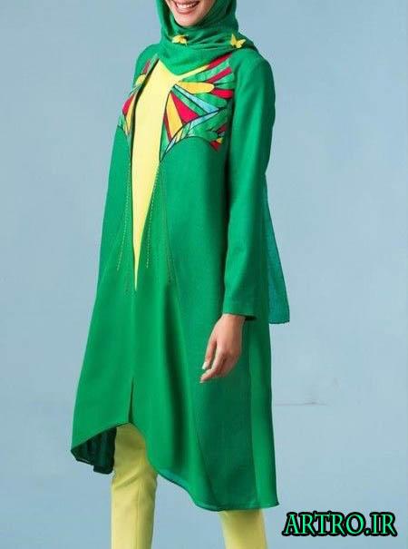 مدل مانتو بهاری دخترانه 96
