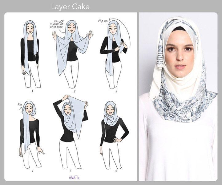 اموزش جدیدترین مدل بستن شال و روسری,