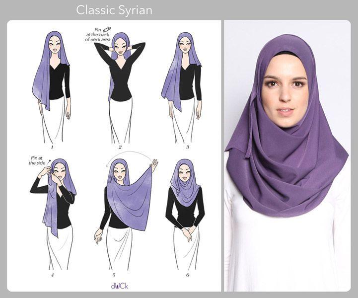 آموزش جدیدترین مدلهای بستن شال و روسری,