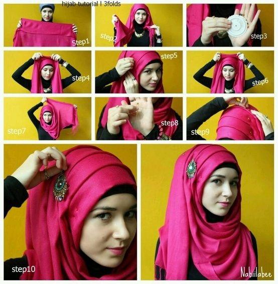 دانلود آموزش جدید روش های بستن شال و روسری