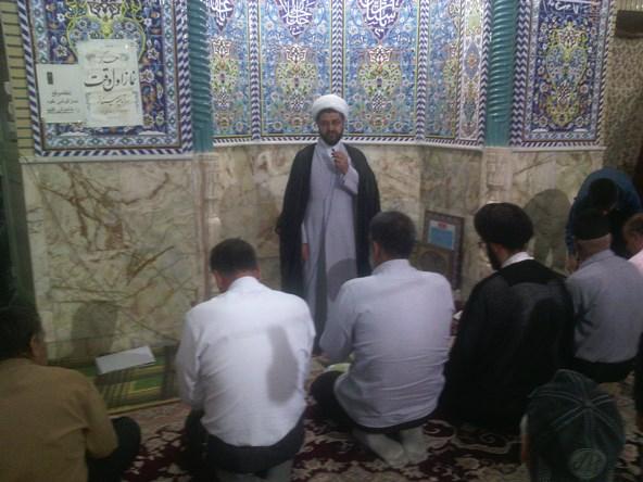 مراسم معارفه امام جماعت مسجد نبی سید مرتضی هاشمی