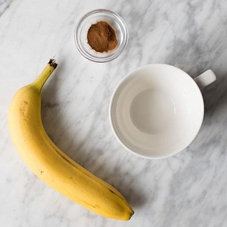 قبل از خواب «چای موز» بنوشید