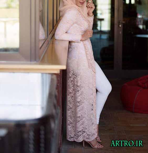 مدل مانتو و روپوش شیک دخترانه 4