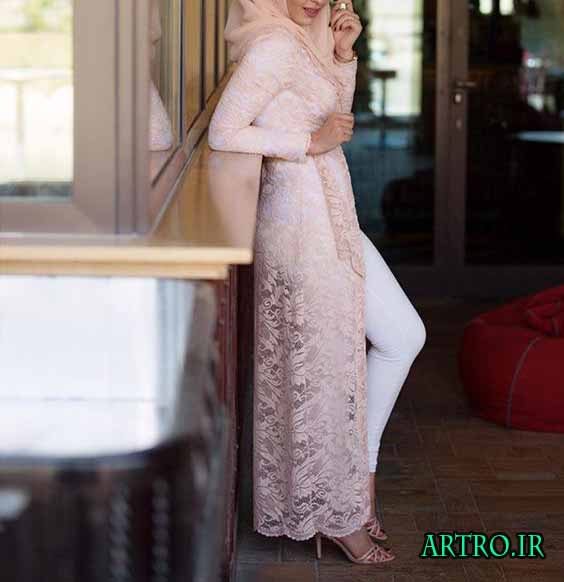 مدل مانتو و روپوش شیک دخترانه 2017