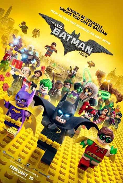 دانلود دوبله فارسی انیمیشن لگو بتمن The LEGO Batman Movie 2017