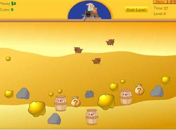بازی آنلاین و سرگرم کننده Gold Miner