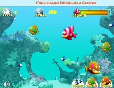 بازی آنلاین ماهی گوشت خوار Fish Tales