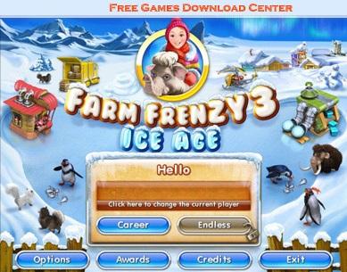 بازی آنلاین و سرگرم کننده فارم فرنزی Farm Frenzy 3 Ice Age