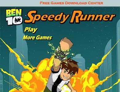 بازی آنلاین بن ۱۰ دونده سریع Ben 10 Speedy Runner