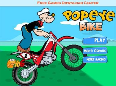 بازی آنلاین و جدید موتور سواری ملوان زبل Popeye Bike