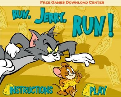 بازی آنلاین و مهیج موش و گربه Run Jerry Run!