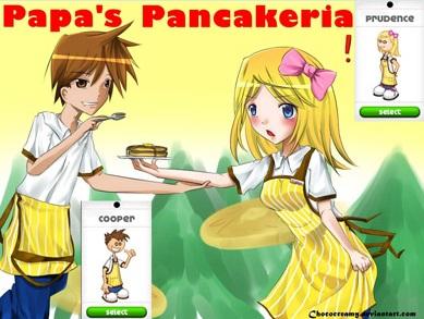 بازی آنلاین رستوران داری Papas Pancakeria