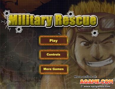 بازی آنلاین سرباز کوچک Military Rescue
