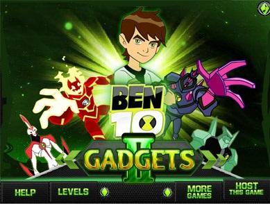 بازی آنلاین بن تن Ben 10 Gadgets 2