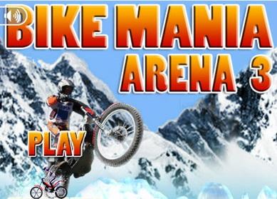 بازی آنلاین موتور سواری Bike Mania Arena 3