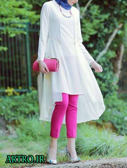 مدل مانتو بهاری و تابستانی دخترانه 3