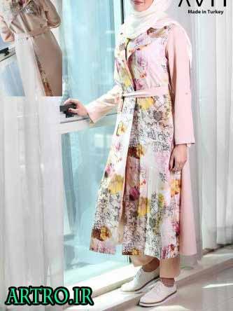 مدل مانتو بهاری و تابستانی دخترانه 2