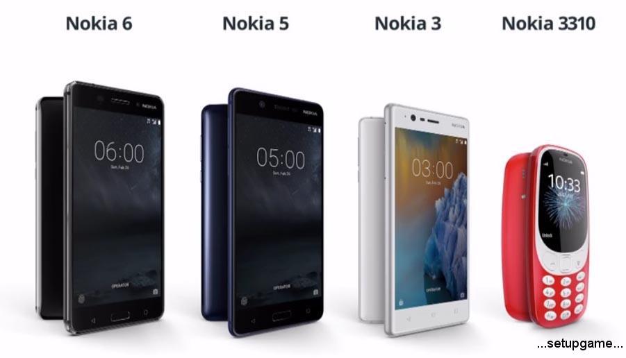 زمان عرضه گوشیهای جدید نوکیا مشخص شد
