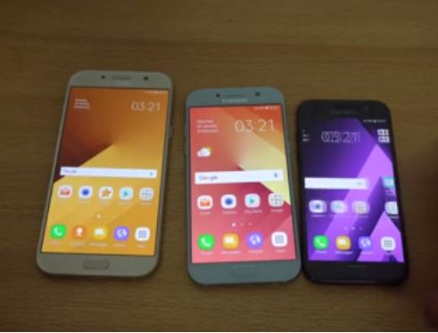 برررسی سه گوشی (Samsung Galaxy A7 vs A5 vs A3 (2017