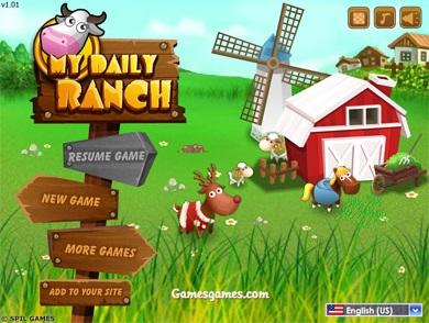 بازی آنلاین مزرعه داری My Daily Ranch
