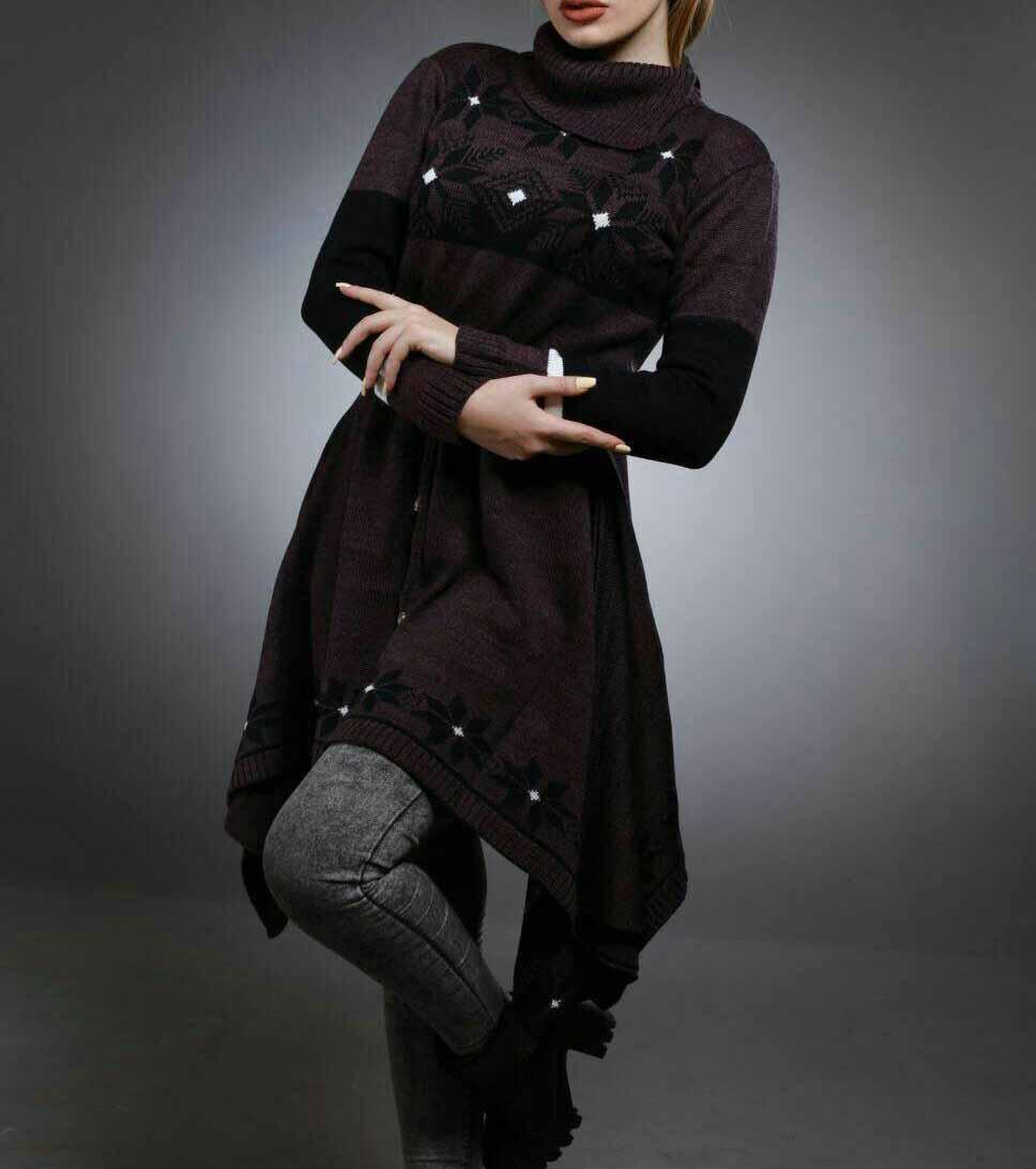 مدل مانتو بافتنی 2017,