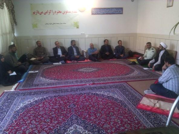 جلسه هماهنگی ستاد بزرگداشت سالگرد امام خمینی (ره)