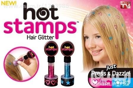 مهر موی Hot stamps
