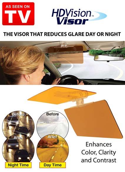 سایبون آفتابگیر دید در شب ماشین Hd Vision Visor