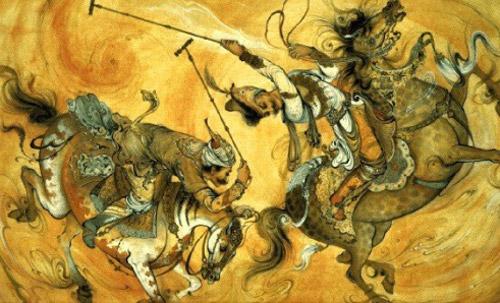 کتاب گوی و چوگان؛ تاریخ فاخر ایران