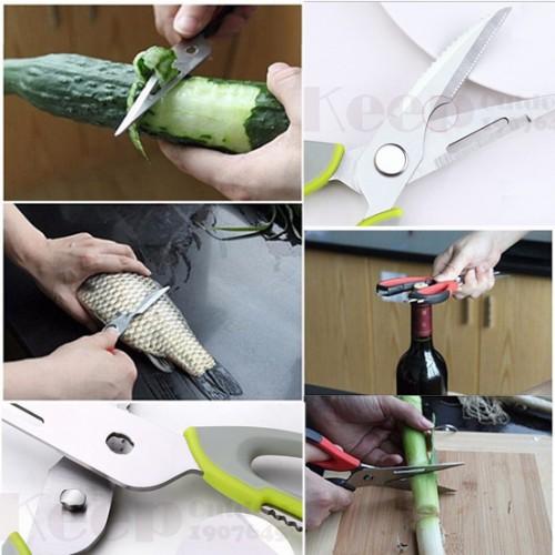 خرید قیچی 10 کاره آشپزخانه Mighty shears