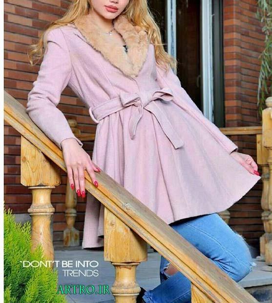 مدل پالتو دخترانه جدید 2017