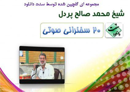 مجموعه ۲۰ سخنرانی صوتی از شیخ محمد صالح پردل