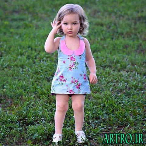 مدل لباس بچه گانه دختر,