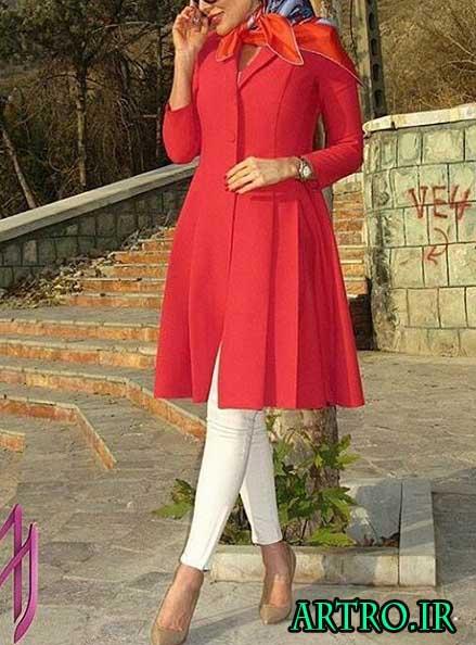 مانتو اسپرت دخترانه 98