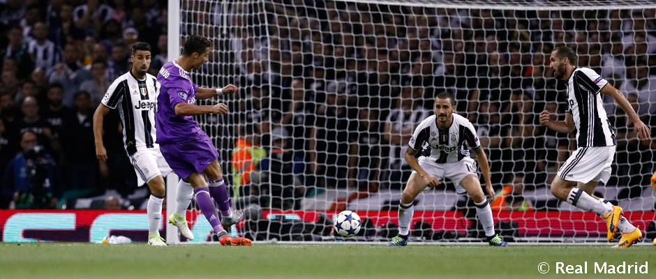 کریستیانو اولین بازیکنی که در سه فینال لیگ قهرمانان اروپا گلزنی کرده است