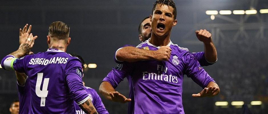 کریستیانو رونالدو، آقای گل لیگ قهرمانان اروپا فصل 2016/17