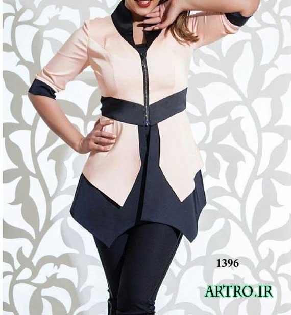 مدل مانتو اسپرت دخترانه کوتاه و جدید