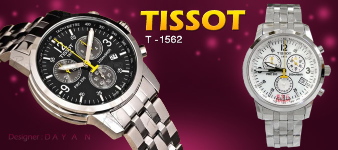 ساعت اسپرت Tissot 1562(استیل)