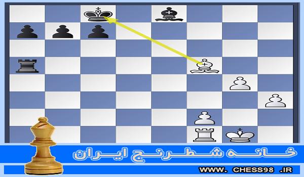 آموزش اختصاصی کیش دادن و رفع کیش در شطرنج