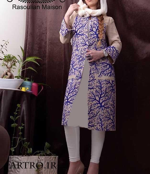 مدل مانتو دخترانه عید 96,