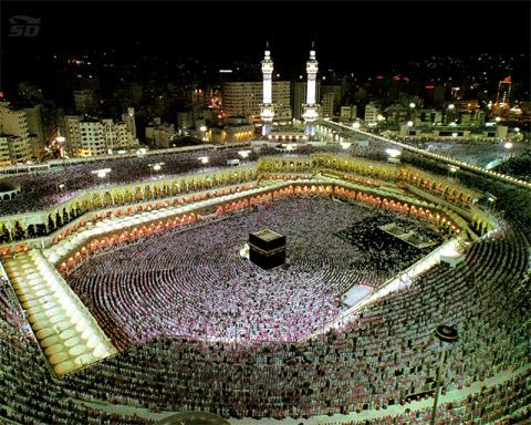 مجموعه تصاویر 3 بعدی از اماکن متبرکه اسلامی (مکه، مدینه، مساجد)