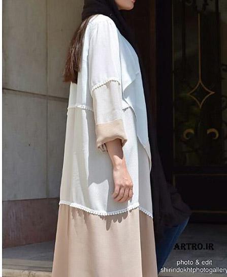 مدل مانتو عبايي شيك96