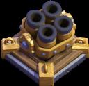 خمپاره انداز چندتایی Multi Mortar