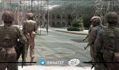تصویر نوشته هاي عملیات تروریستی داعش در تهران