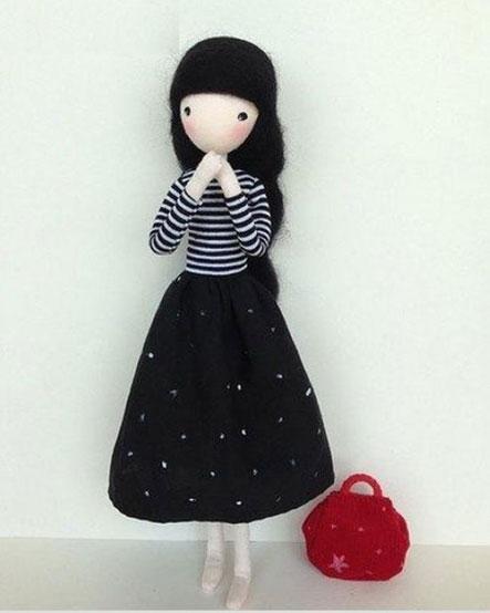 آموزش ساخت عروسک دختر با سیم