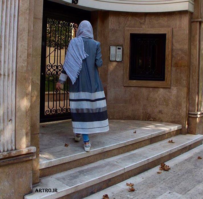 مدل مانتو بلند تابستانی ایرانی,