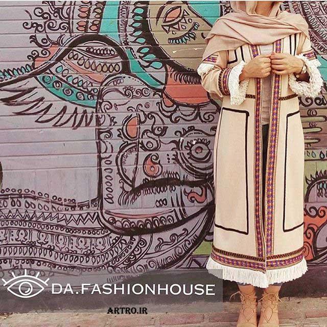 مدل مانتوی بلند ایرانی,