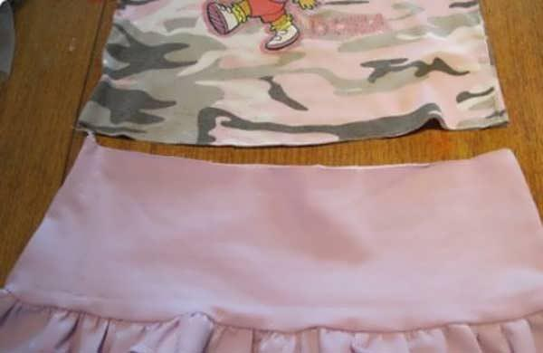 آموزش دوخت لباس بچه بدون الگو5