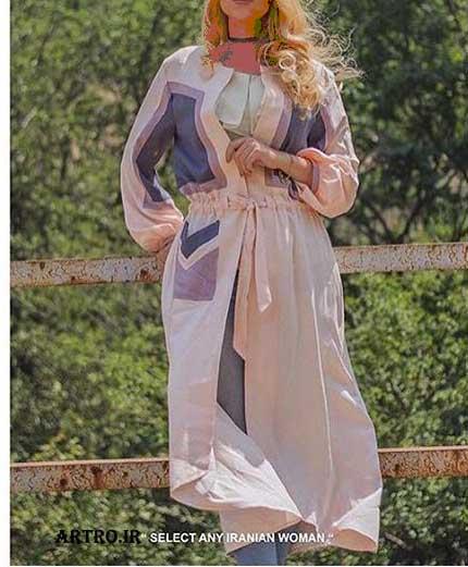 جدیدترین مدل مانتو بلند دخترانه2018
