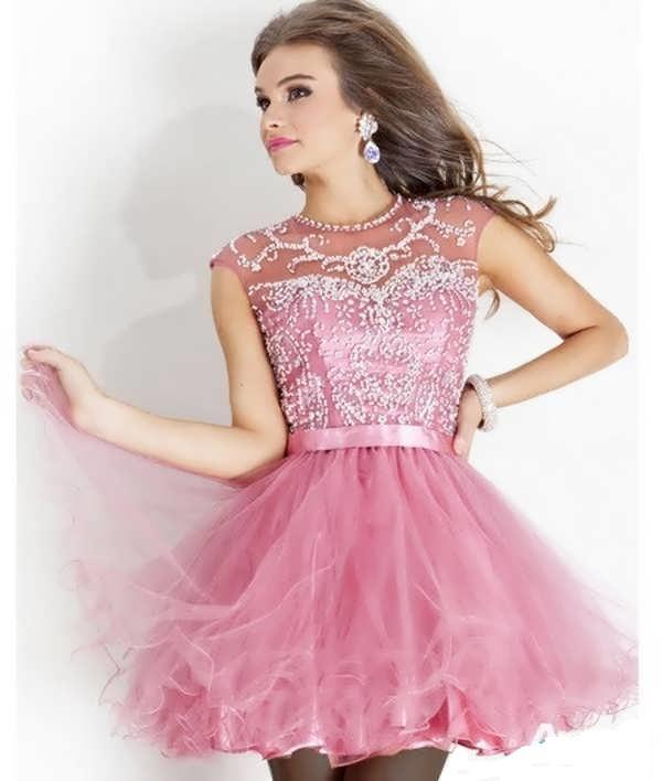 مدل لباس مجلسی شیک دخترانه سری 8